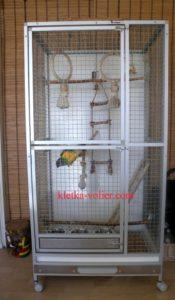 клетка для сенегальского попугая
