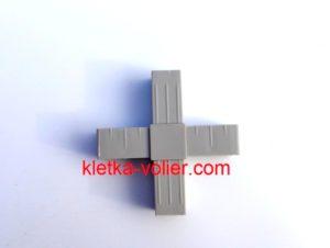 пластиковый соединитель крест