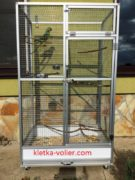 клетка для попугая по своим размерам
