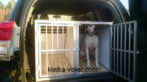 клетка в машину для перевозки собак